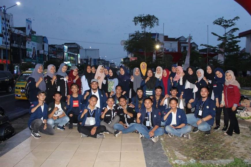Bentuk Solidaritas, Mahasiswa FISIP UNIB Gelar Penggalangan Dana untuk Sulteng