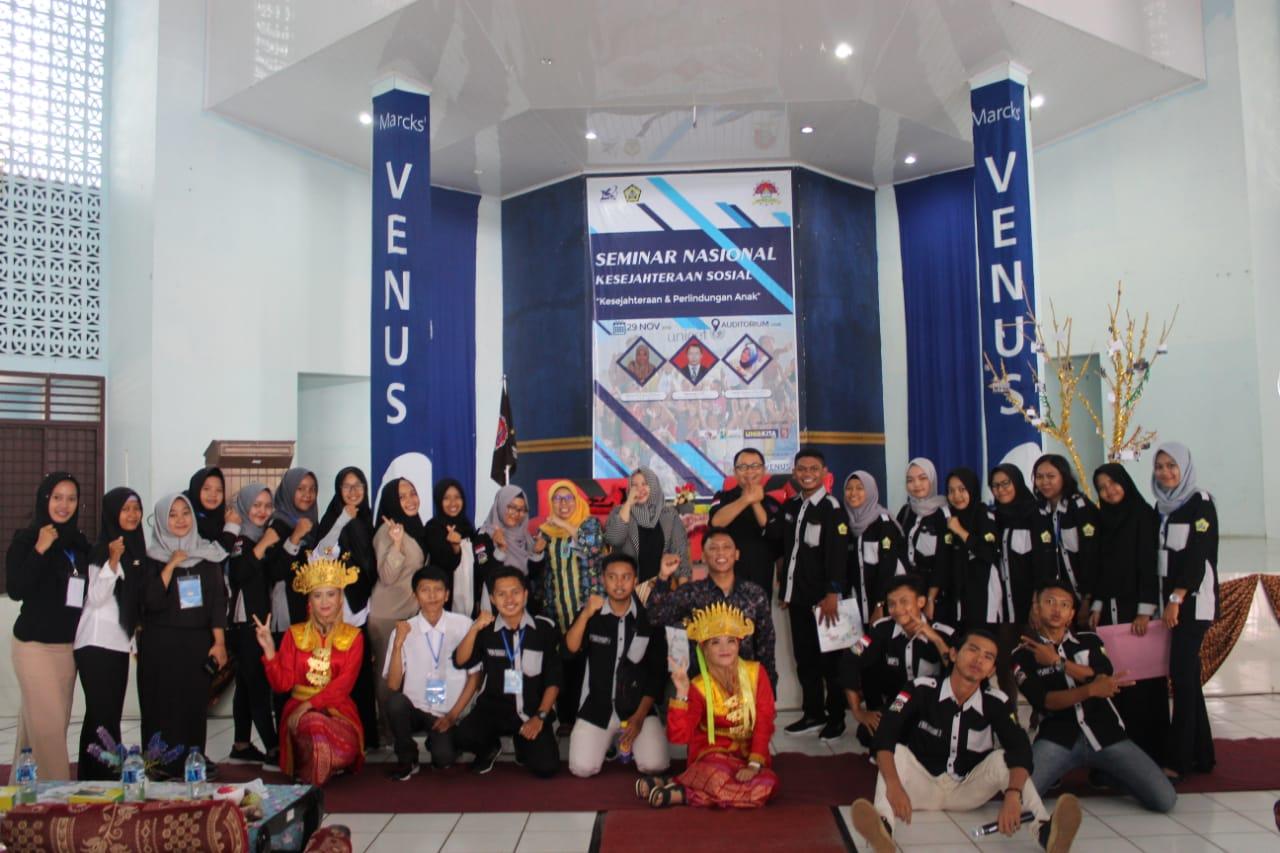 HIMA KS Sukses Adakan Seminar Nasional Kesejahteraan dan Perlindungan Anak